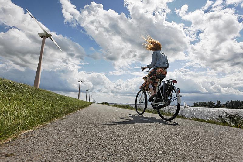 fietsen werk bewegen