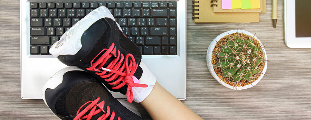 sporten en werken
